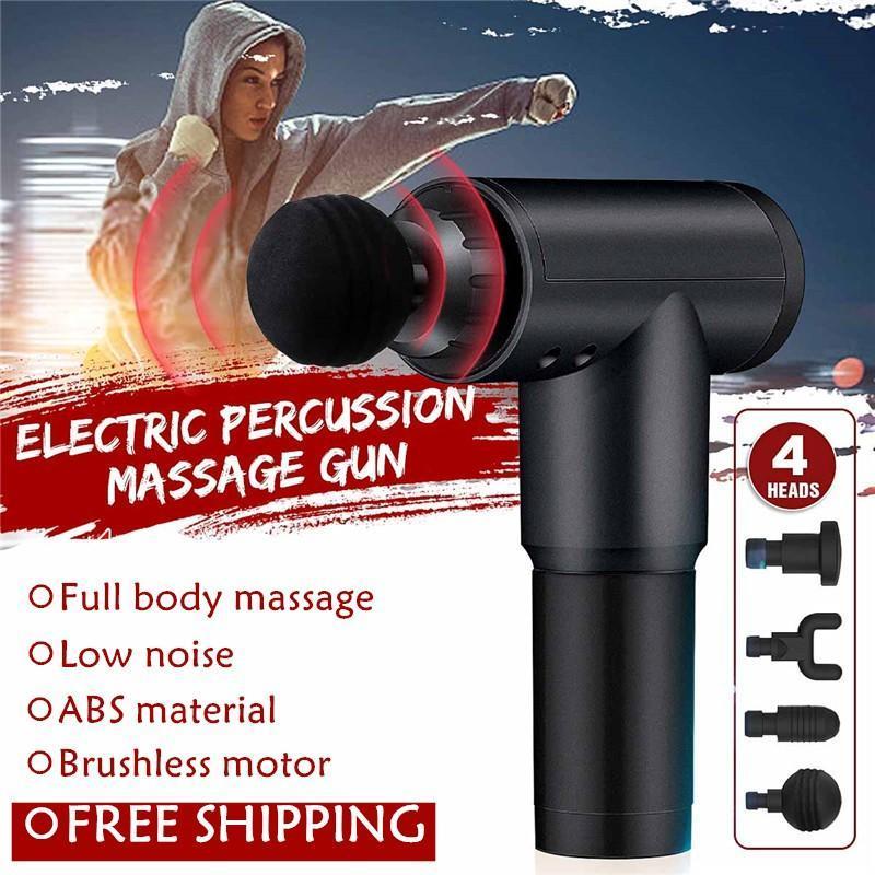 Musle Relaxation Massage pistola di decompressione per massaggi per il collo Leg spalla allenamento viso senza 4 tipi di accessori capi dei FY0027