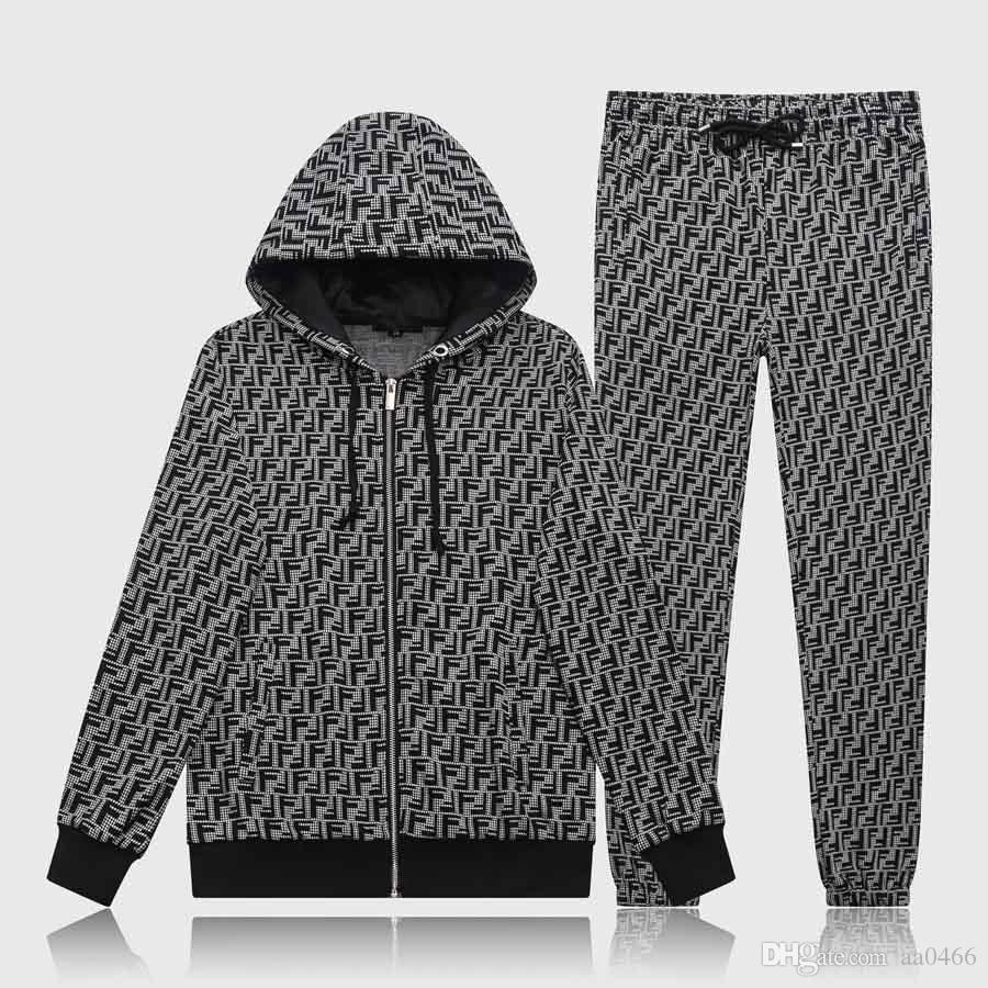 Erkek Spor Suit'in Tişörtü Suits İtalya Lüks Tasarımcı eşofman Marka Kapüşonlular Ceketler Erkek Moda Medusa Spor Eşofman