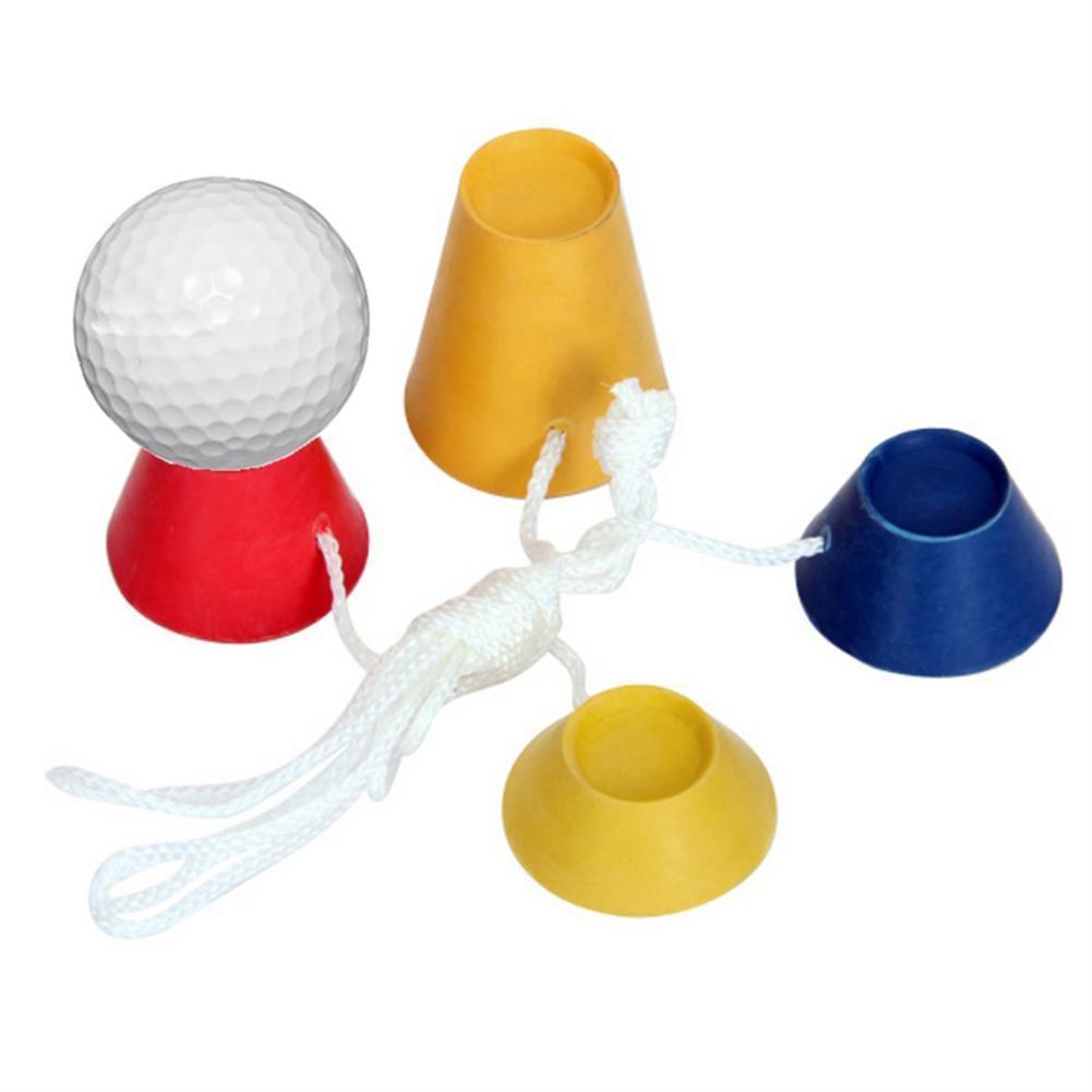 4Pcs / Set-Qualitäts-Gummi Winter-Golf Tees Sport Golf Rubber Tees Golf Zubehör 4Pcs / Set Hohe ycpoE