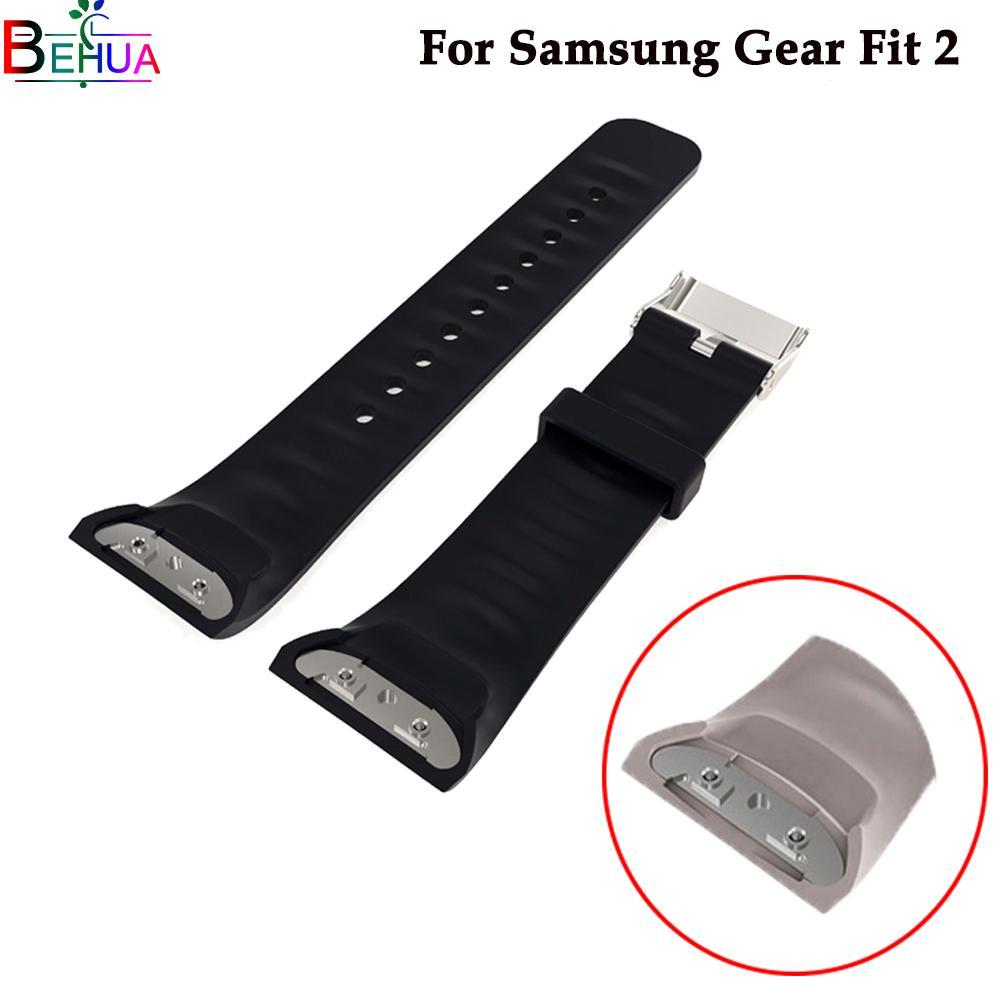 Cinturino in silicone sportivo Cinturino per orologio Samsung Gear Fit 2 SM-R360 smart Per cinturini per Samsung Gear S2 Accessori