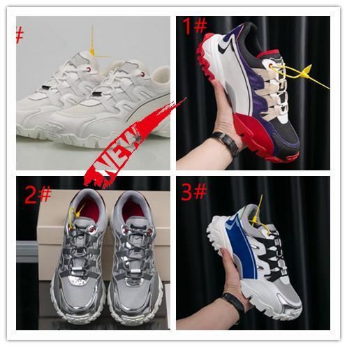Дизайнерская обувь платформа роскошные мужские женские дизайнерские туфли золотая пластина-форма кроссовки ткани и кожа альпинисты кроссовки T5