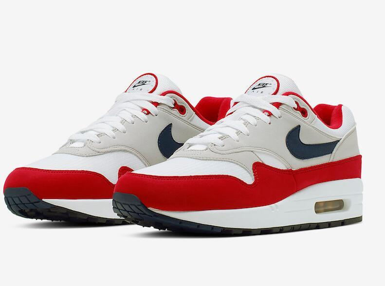 2020 Shoes Air Max 1 87 Fourth Of July