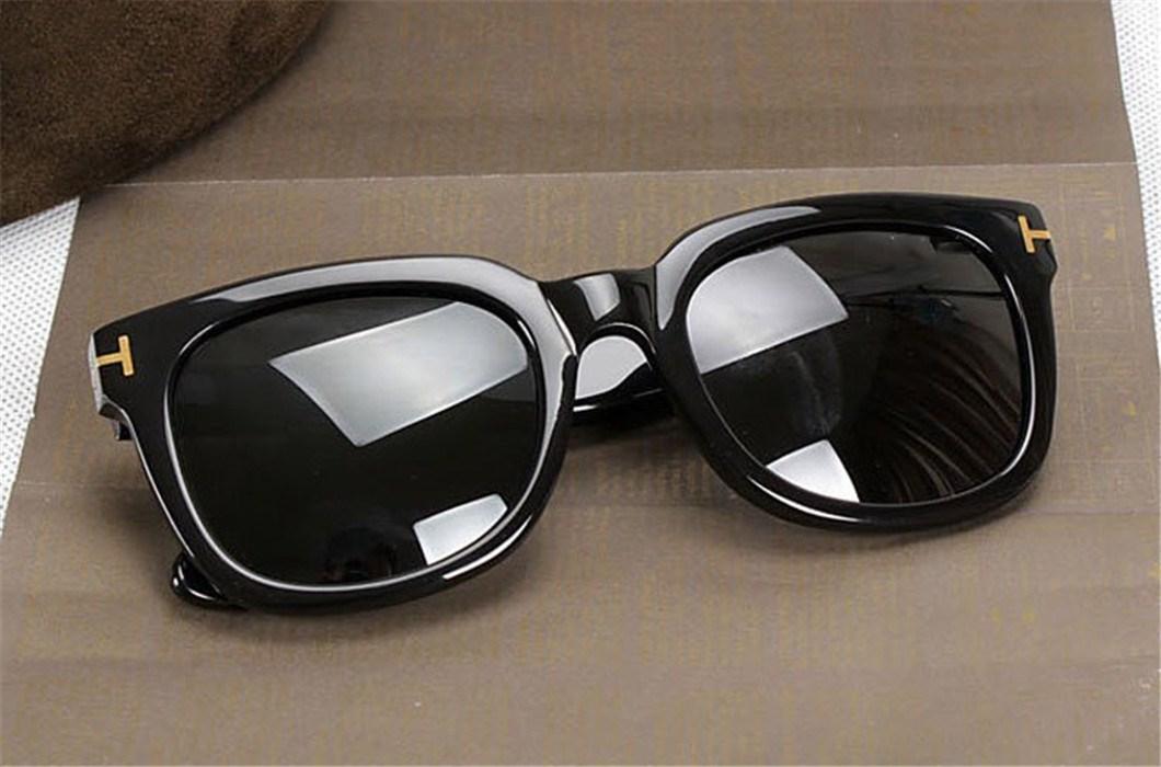 مصمم النظارات الشمسية ماركات عالمية- ساخنة المرأة رجال العلامة التجارية النظارات الشمسية TF211 طلاء oculos ريترو gafas دي سول العلامة التجارية نظارات شمسية