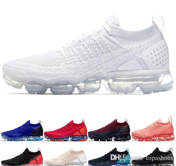 Commercio all'ingrosso 2018 designer 2.0 V2 Triple bianco nero rosso rosa Viola grigio tpu Oreo Uomo Donna Chaussures scarpe da ginnastica Sneakers Sportive Scarpe Da Corsa nike