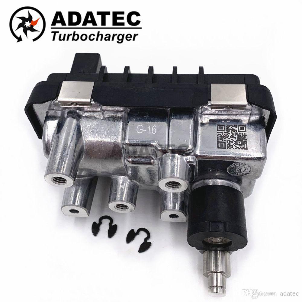 GTB1749VZ G16 G-016 G16 786266 Chargeur Turbo électronique actionneur 767649 6NW009550 Pour Audi Q7 4.2 TDI 250 Kw - 340 HP FCMII