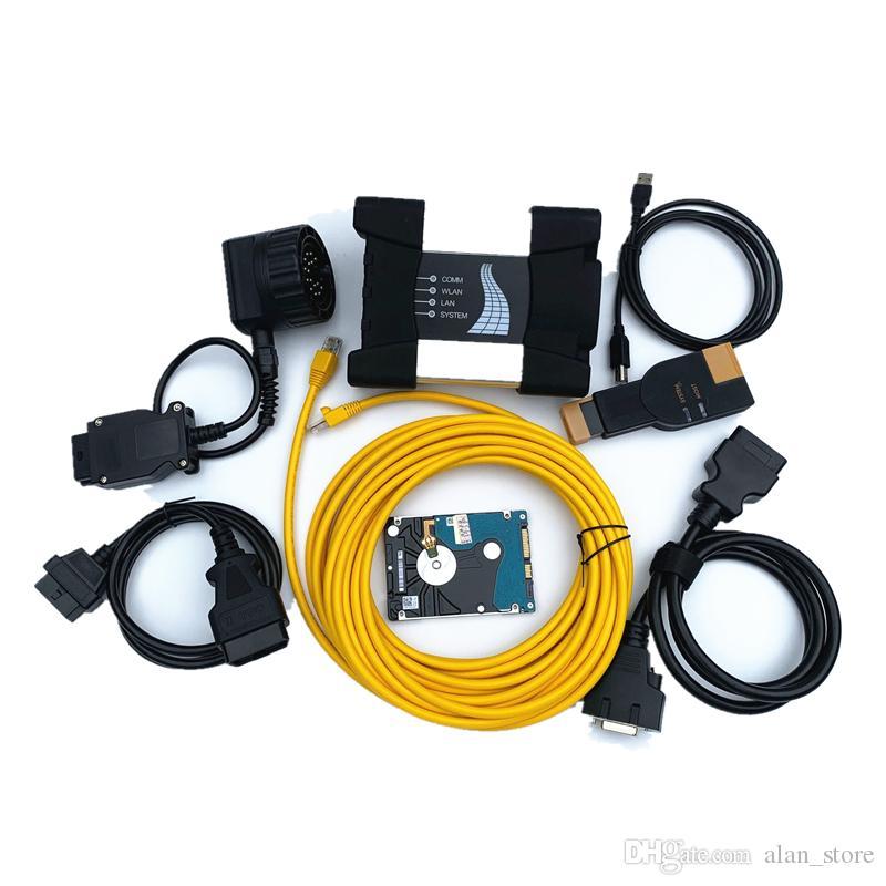 V2019.03 ИКОМ рядом с для BMW диагностический сканер последней версии программного обеспечения жесткий диск SSD диагностический программирования DHL бесплатная доставка
