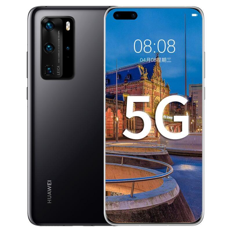 "Original Huawei P40 Pro 5G Mobile Phone 8GB RAM 128GB 256GB 512GB ROM Kirin 990 50MP AR IP68 NFC 4200mAh Android 6.58"" OLED Full Screen Fingerprint ID Face Smart Cell Phone"