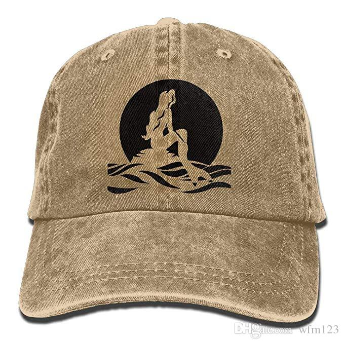 Anchor Trend Printing Cowboy Hat Fashion Baseball Cap for Men and Women Black and White