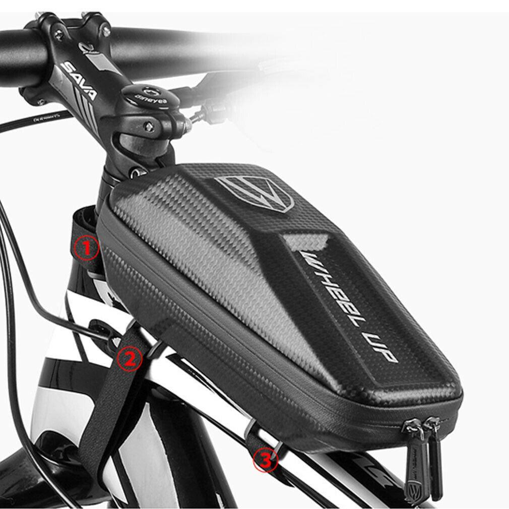Fahrrad Front Frame Triangle Bag Radfahren Bike Tube Pouch Halter Satteltaschen