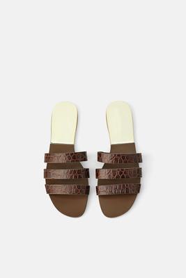 20 europei e americani nuova primavera e l'estate tutti i giorni casuale collo del piede piatto con romani dei sandali vento comode pantofole femminili