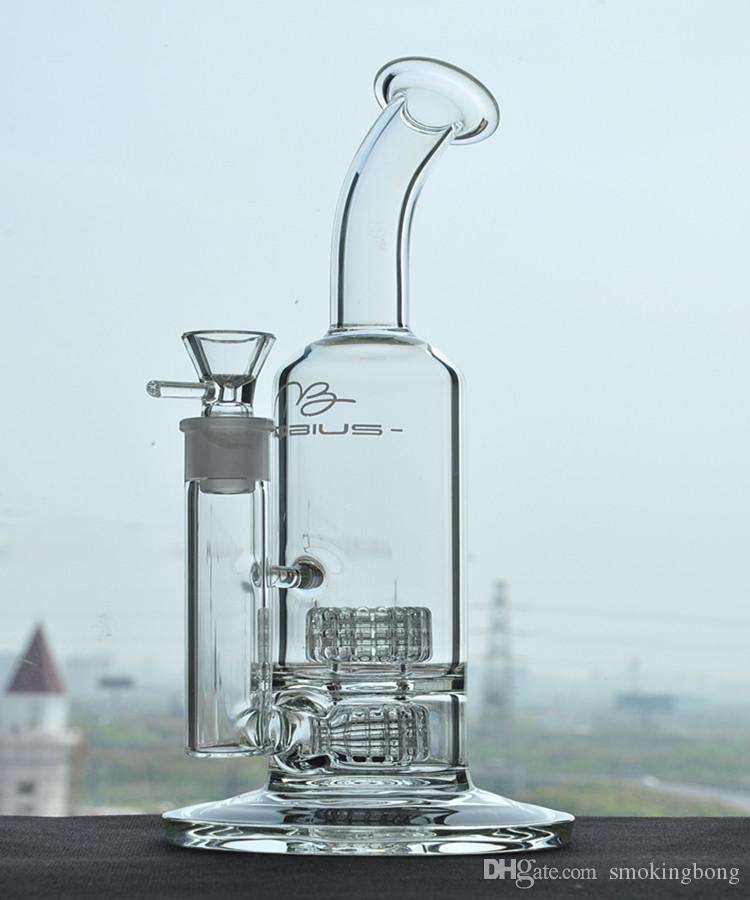 MOTIUS GLAST BONG BROKATHS Shhasha Tuyaux d'eau Stéréo Matrix Heady Plateaux Verres Bongs Percolateur Chicha 18mm Bol