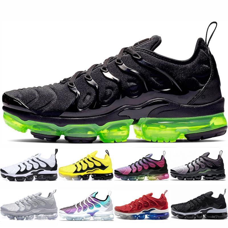 Черный Вольт плюс кроссовки для мужчин женщин плюс тройной черный белый Шмель гипер синий Зебра США женские дышащие спортивные кроссовки 36-45