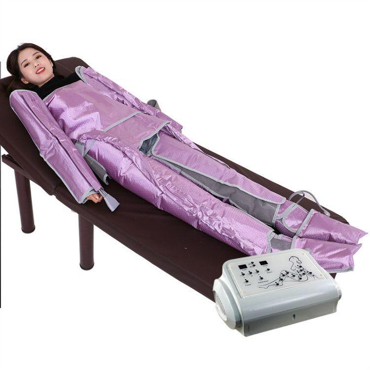 New Pressão chegada Air emagrecimento máquina Pressoterapia Músculos redução de celulite Massagem Linfática perda de peso drenagem moldar o corpo