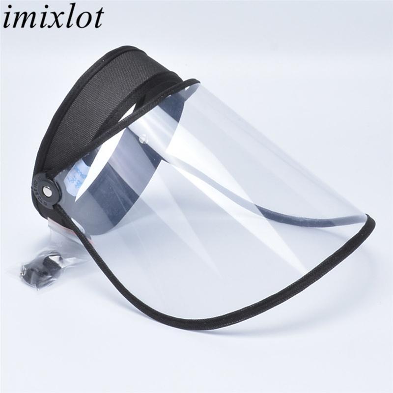 Imixlot 2020 New ajustável viseira Sun Hat Moda Unissex simples Transparente Casual Outdoor protetor solar Cap Proteção UV