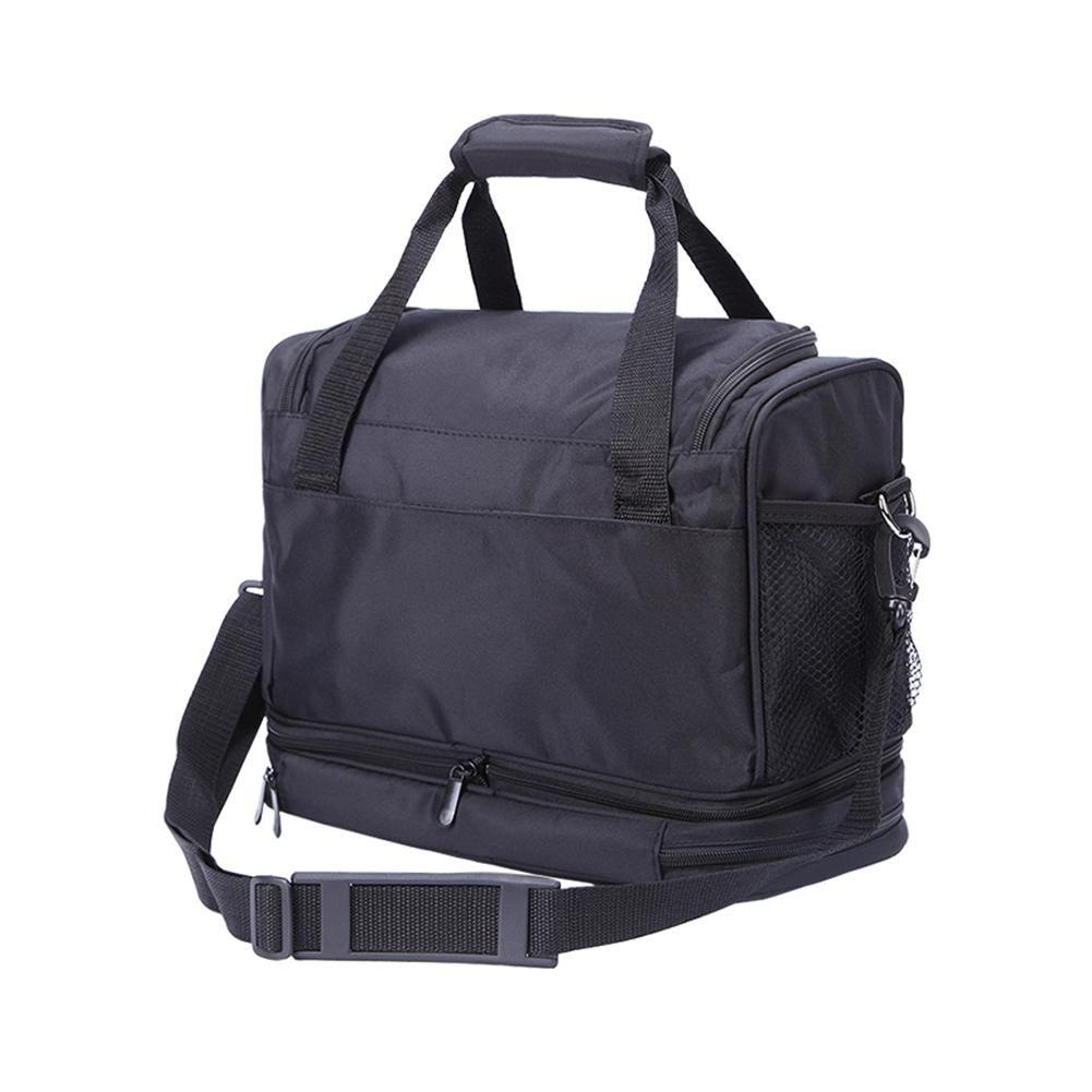 حقيبة التخزين الكبيرة لأدوات صالون الحلاق تصفيف الشعر المعدات التصميم الحقيبة للسفر الأمتعة لمجفف شعر كومز فرش
