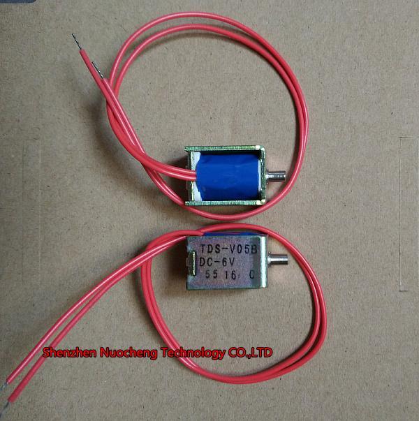 새로운 6V 정상 개방 솔레노이드 밸브 TDS-V05B 13 * 15 * 20mm 에어 밸브의 소형 혈압계 밸브
