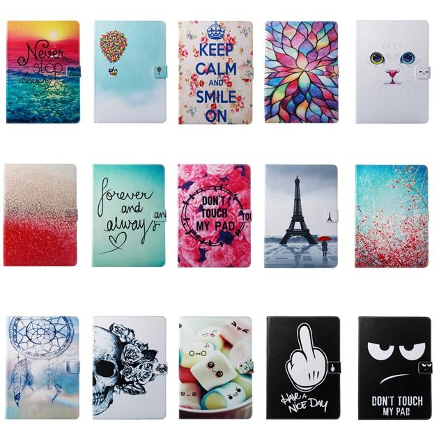 Cartoon Owl Wallet Leather Case For Ipad Air3 Air 3 2019 Pro 10.5 2017 Mini 1 2 3 4 5 Mini5 Bling Butterfly Flower Keep Calm Skin Cover