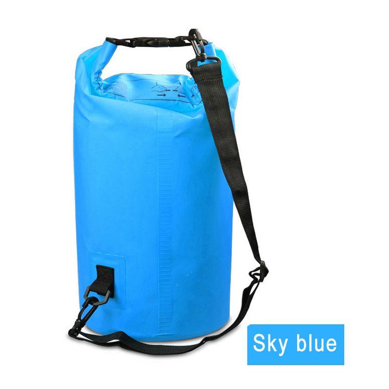 2L 3L 5L Waterproof Dry Bag Water Resistant Swimming Storage Bag Pack Sack Rafting Kayaking Camping Floating Sailing Canoeing