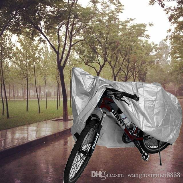 Universal Bike Motorcycle Rain Polvere Copertura antipolvere impermeabile Polvere UV Bicycle Motorcycle Cover Bicycle Protective Gear 210 * 100UK