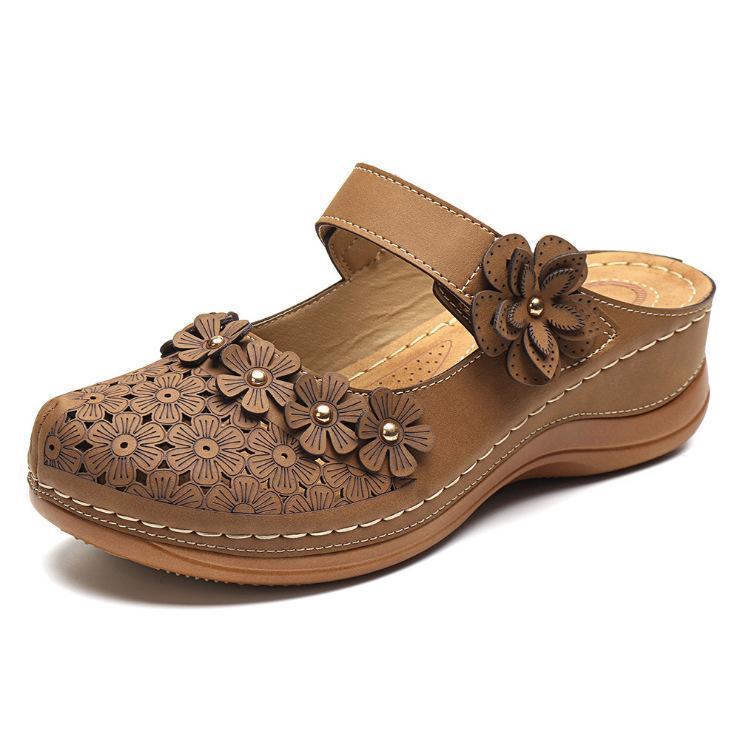 2020 Kadın sandalet yaz Sığ ağız ayakkabı sandalet Moda rahat Bohemya tarzı seksi kadın ayakkabıları