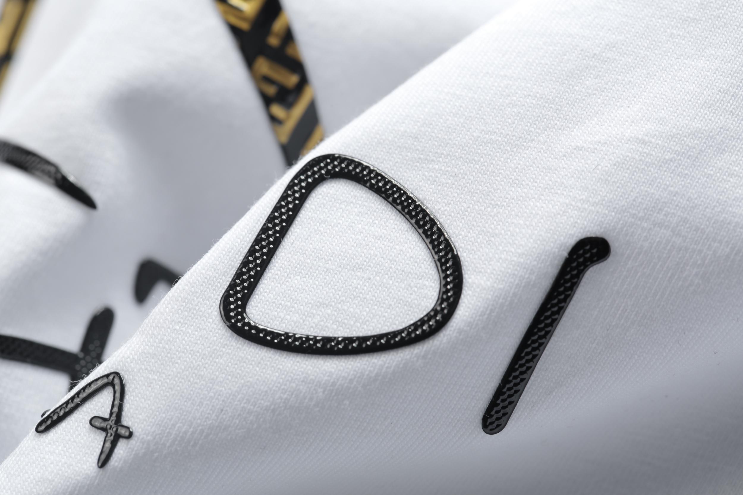 estate 2020 nuova moda via della moda di perforazione a caldo giovani camicia cranio a maniche corte Polo Uomo Slim 0025