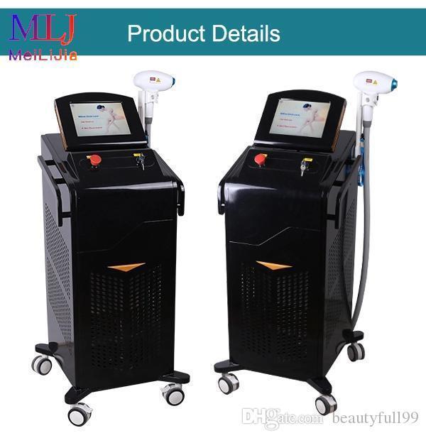 Machine de beauté de la couleur de couleur laser de 755nm d'origine 755nm d'Alexander Laser pour le salon