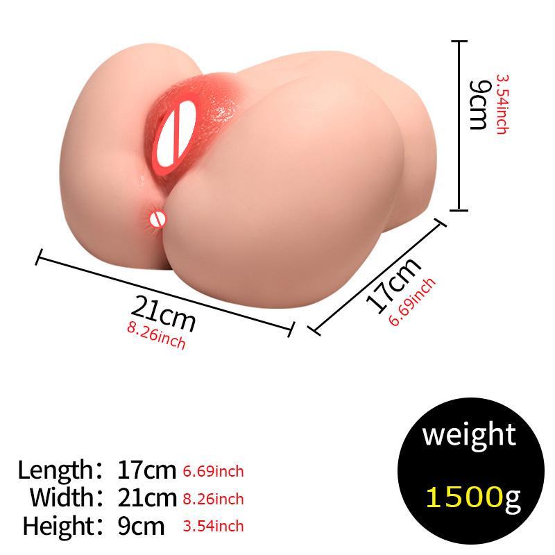 Realistico Pussy Ass Sex Maiden Throat Maschio Vagina Deep Deep Pocket Toys Culo Soft Masturbator Big Anale Nvtde