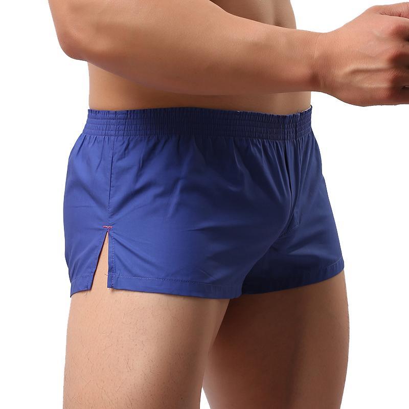남성의 인과 관계이지웨어 반바지 남자 섹시한 수영복 통기성 반바지 패션 비치웨어