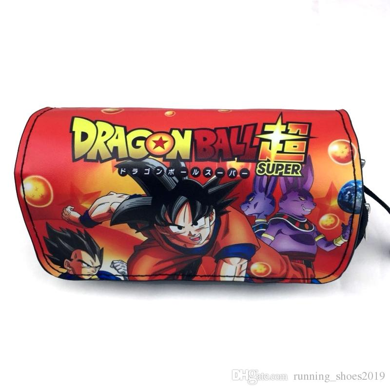 dragon ball super pencil case bag anime cosplay goku pencil pouch for school comics fan #87389