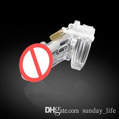 Dispositif de chasteté mâle adulte CAGE CAGE CAGE CAGE CAGE CB6000 avec 5 anneaux