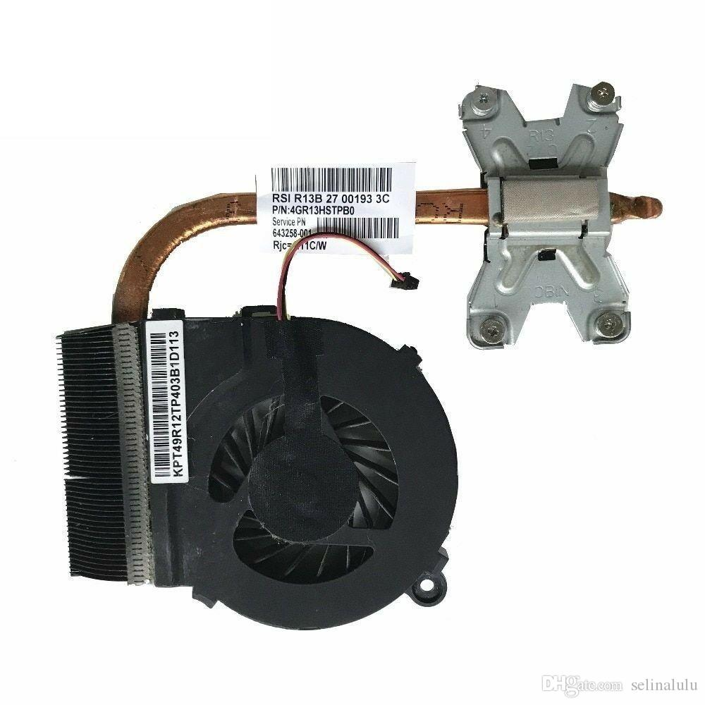 643258-001 New Cpu Cooling Fan /& Heatsink For HP PAVILION G6 LAPTOP P//N