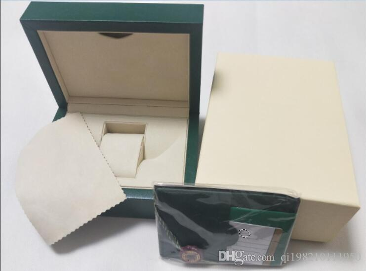 ترف نمط جديد ووتش الساعات الأصلي مربع صناديق بطاقة اليد للرئيس كوسموجراف 116610 116710 116660 126710 116200 126600 118238