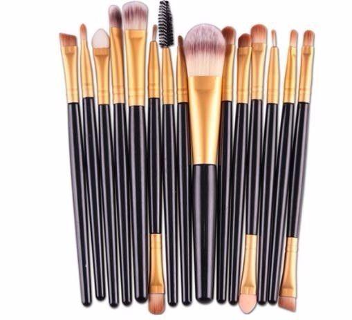 Makeup Brushes Set Rhinestone Tools Powder Eyeshadow Foundation Eyebrow Eye Lip Face Brush Kit Cosmetics