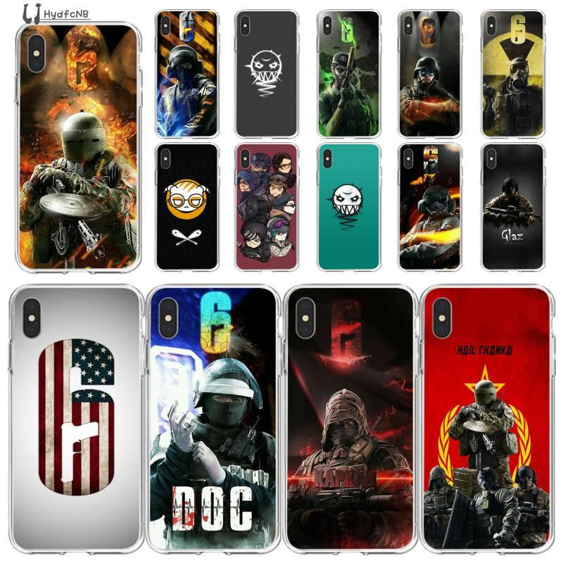 2020 Tom Clancy Rainbow Six Siege Phone Case For IPhone 11 Pro XS ...
