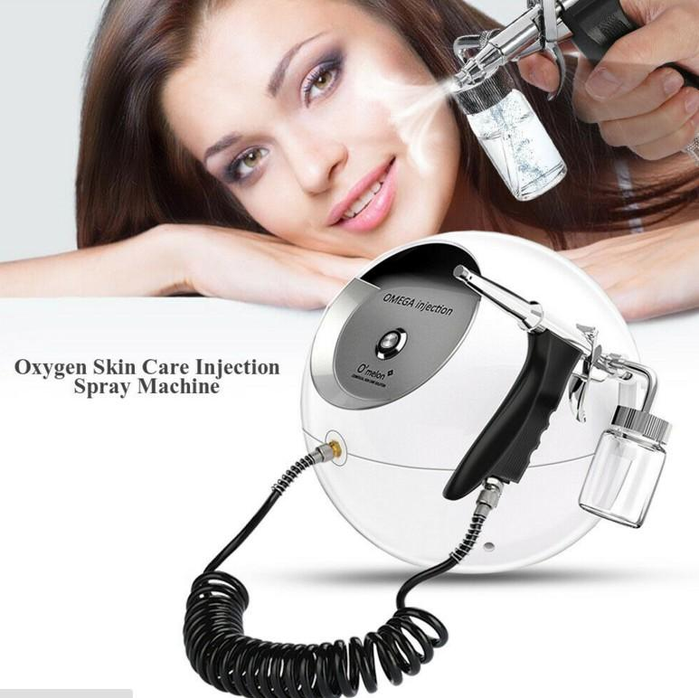 VENTA CALIENTE de oxígeno portátil de oxígeno facial Cuidado de la piel belleza de la máquina de chorro de agua Peel