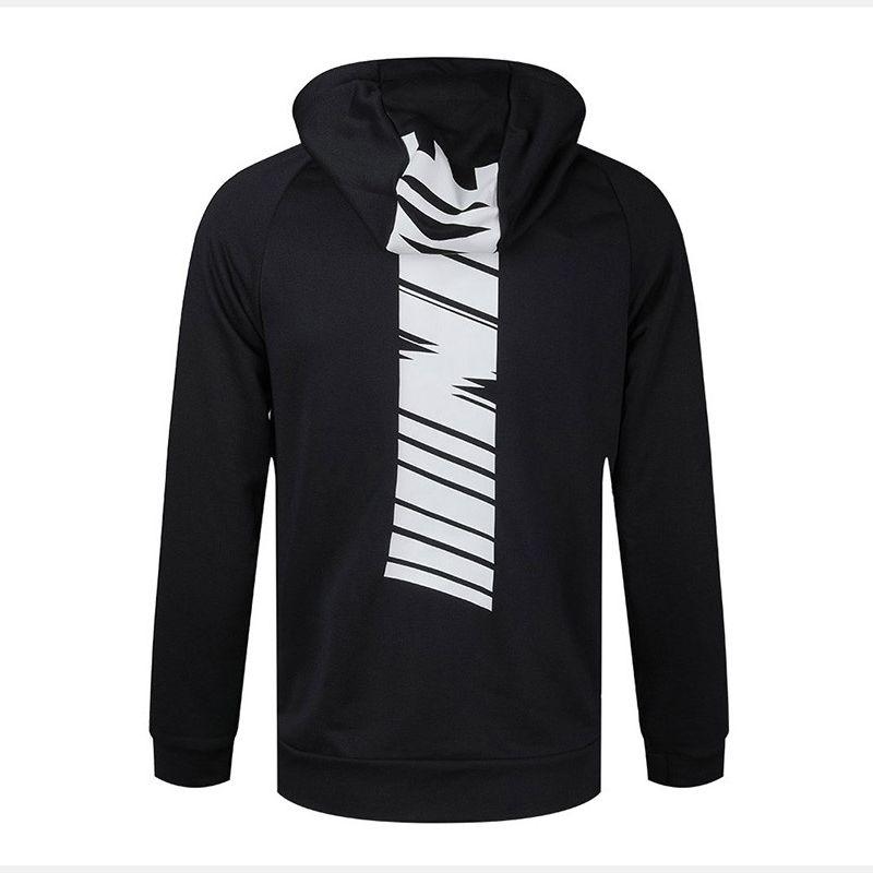 Moda Marka Erkek Ceket ile Kapşonlu Yeni Varış Lüks Siyah Spor Ceket Mont Tasarımcı Erkekler Hoodie Ceketler Üst Sonbahar Giysileri Boyutu S-2XL