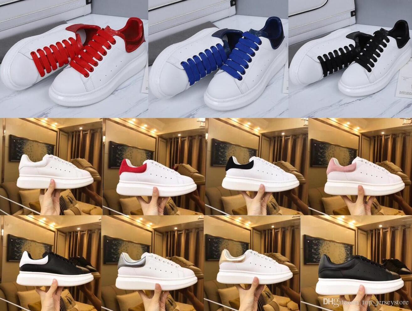 Designer Homens Mulheres Sneaker calçados casuais Moda inteligente Plataforma Trainers luminosa fluorescente sapatos Cobra Voltar Chaussures couro Pour Hommes