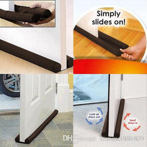 Haute Qualité Double Porte Doorstop Décor Projet Dodger Garde Stopper d'économie d'énergie Protector Outils de nettoyage pour porte fenêtre