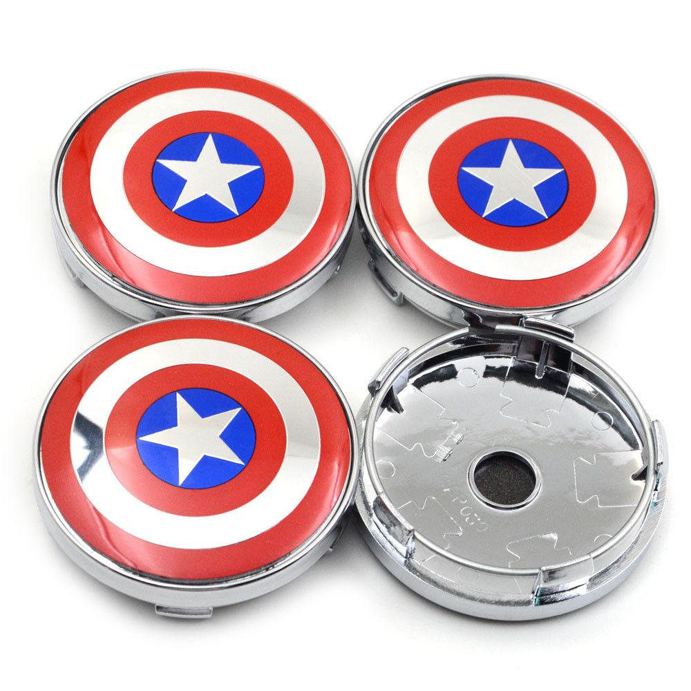 2020 Car Captain America Emblem Decal Steering Wheel Hub Centre Cover Caps Sticker From Ultra Supplier 20 1 Dhgate Com