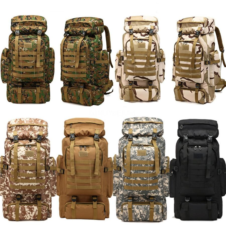 Camping Wandern Rucksack 6 Farbe Sport und Outdoor-Beutel-Spielraum-Rucksack Trekking-Tasche Bergsteigen Ausrüstung Schule 4AZ # 90253