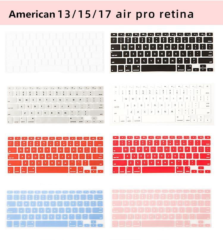 حجم اللمس الجديدة بار سوبر العملي متعدد الألوان المحمول لوحة المفاتيح فيلم ماك بوك Pro13 تاتش الدفتري اللون واقية السينمائي