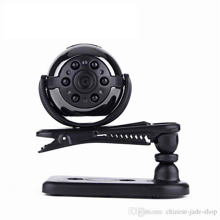 SQ9 Mini Camera 1080P HD Video Recorder Infrared Night Motion Detection Micro Camera 360 Degree Rotation Digital Camera 20pc/lot