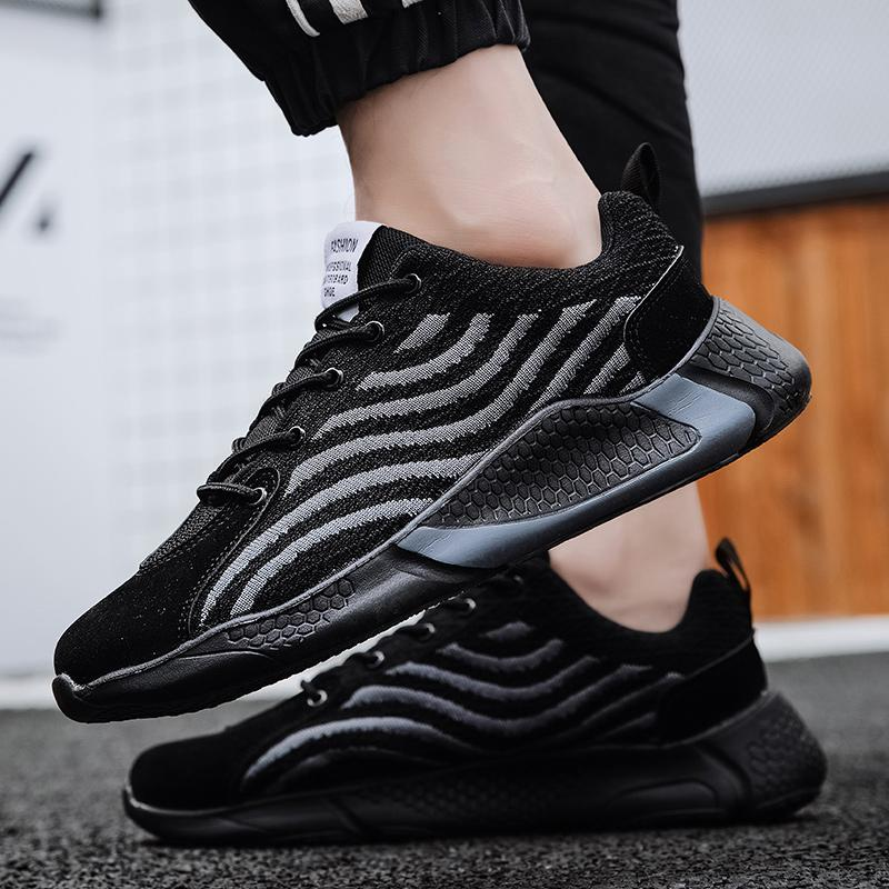 Men Sneakers Breathable Air Mesh Outdoor Sport Shoes Spring Autumn Light Cushion Flats Training Running Shoes Zapatos De Hombre