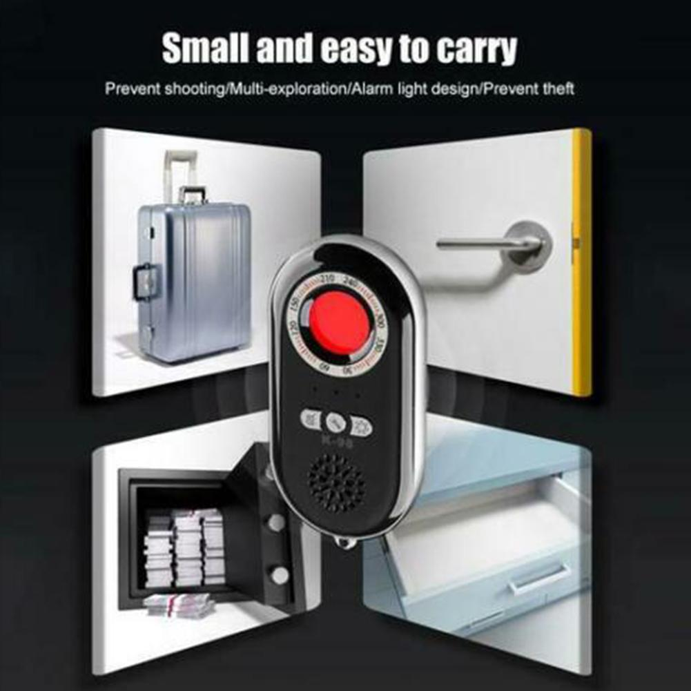 Multifunctional Infrared Detector Invisible Surveillance Mini Anti- Home Portable Security Device Monitor Alarm GPS