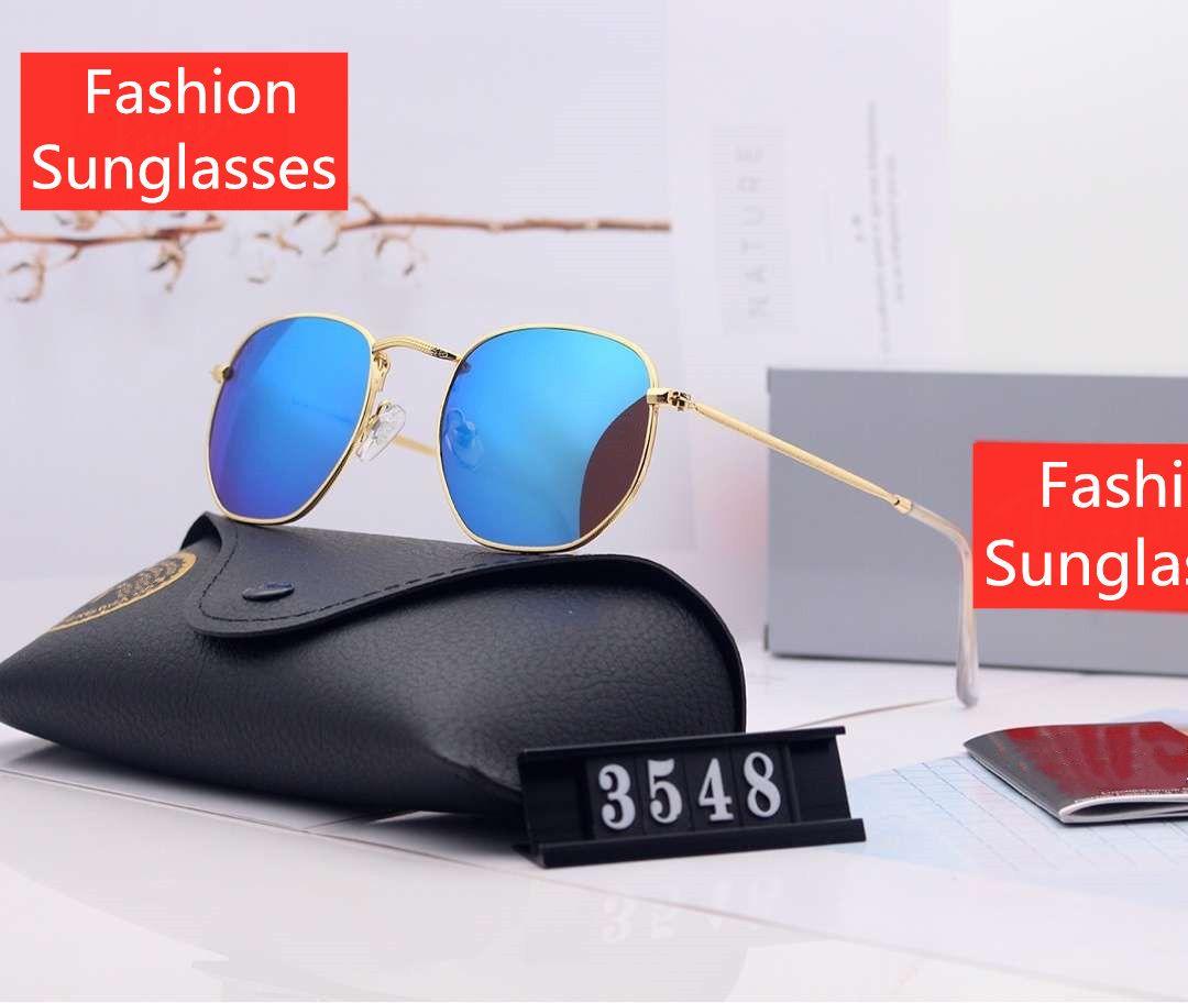Uomo Donna Occhiali da Sole Estate Goggle occhiali da sole UV400 3548 8 Colore facoltativo altamente qualità con la scatola
