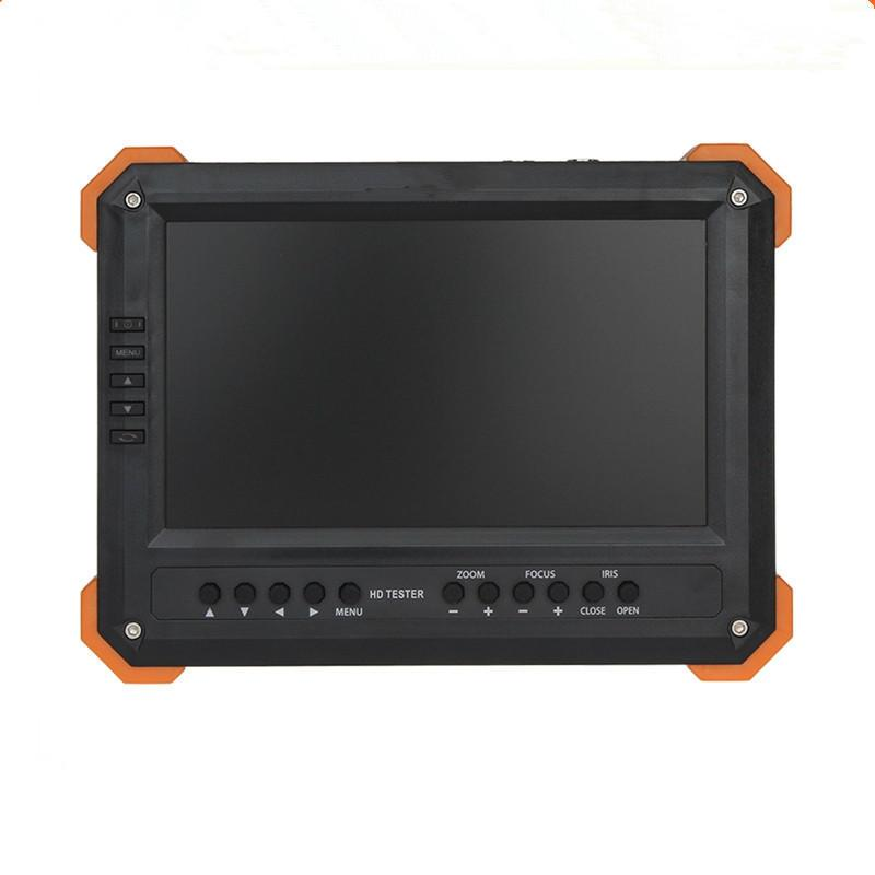 Yeni 7 inç HD CCTV Tester Monitörü Analog HD TVI AHD CVI 4MP 1080P Kamera Tester VGA HDMI Giriş 12V2A Çıkışı