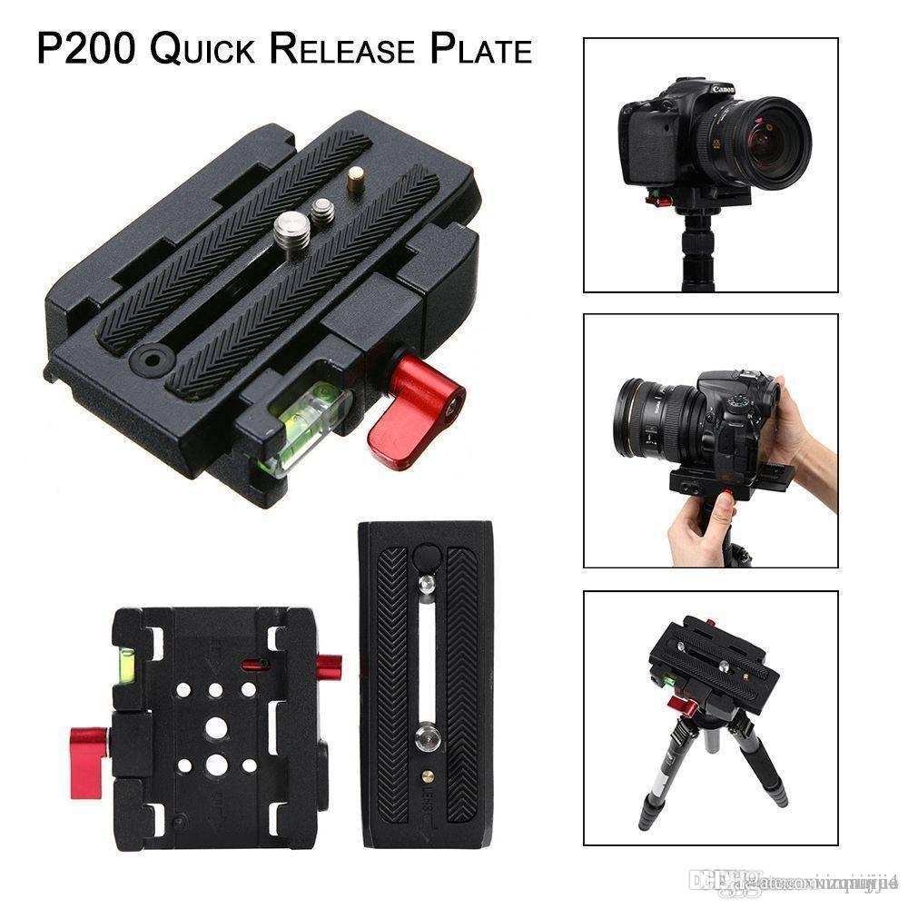 Quick Release QR Plate Clamp Adapter Base Station For Digital Camera Manfrotto 501 500AH