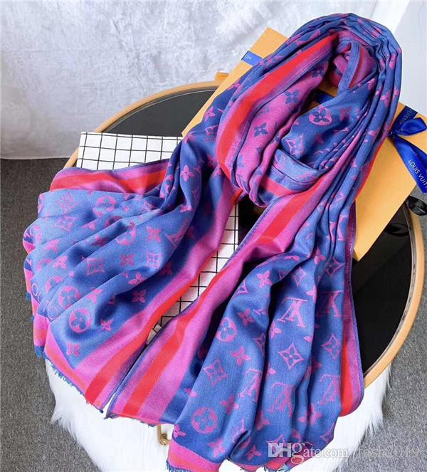 4 colors hot selling top quality scarf fashion brand women's clothing spring and autumn season silk wool scarf shawl 180*70 cm