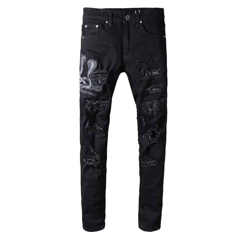 2019 Горячий продавать Жан стилиста джинсы Комфортные мужские стилиста штаны высокого качества Модные мужские джинсы