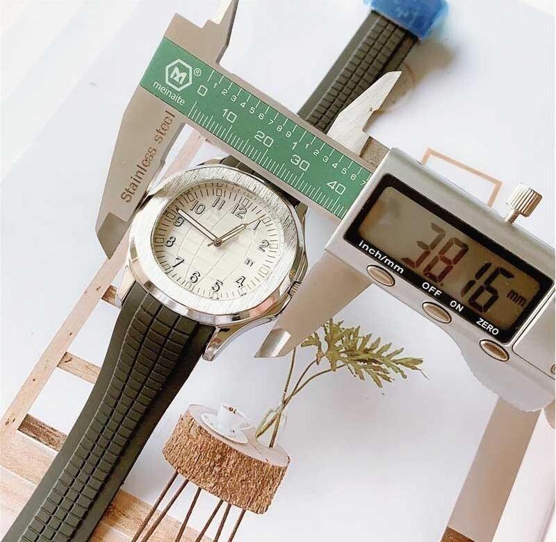 Rose Gold di moda di lusso della signora Mens orologio di design pp relogio masculino 38 millimetri sportivo militare orologi da polso originale Chiusura